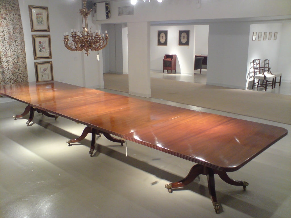 Long Dining Table For Sale 18 Foot Long Dining Table At 1stdibs