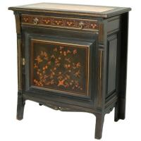 Herter Japanese Marquetry Inlaid Cabinet [Signed] at 1stdibs