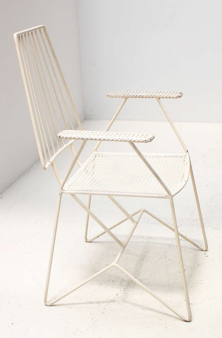Set of four 1950 s outdoor chairs at 1stdibs
