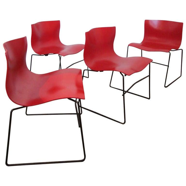 Vignelli Handkerchief Chairs At 1stdibs