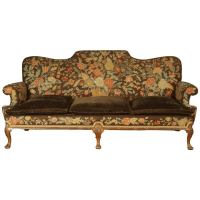 Queen Anne style sofa at 1stdibs