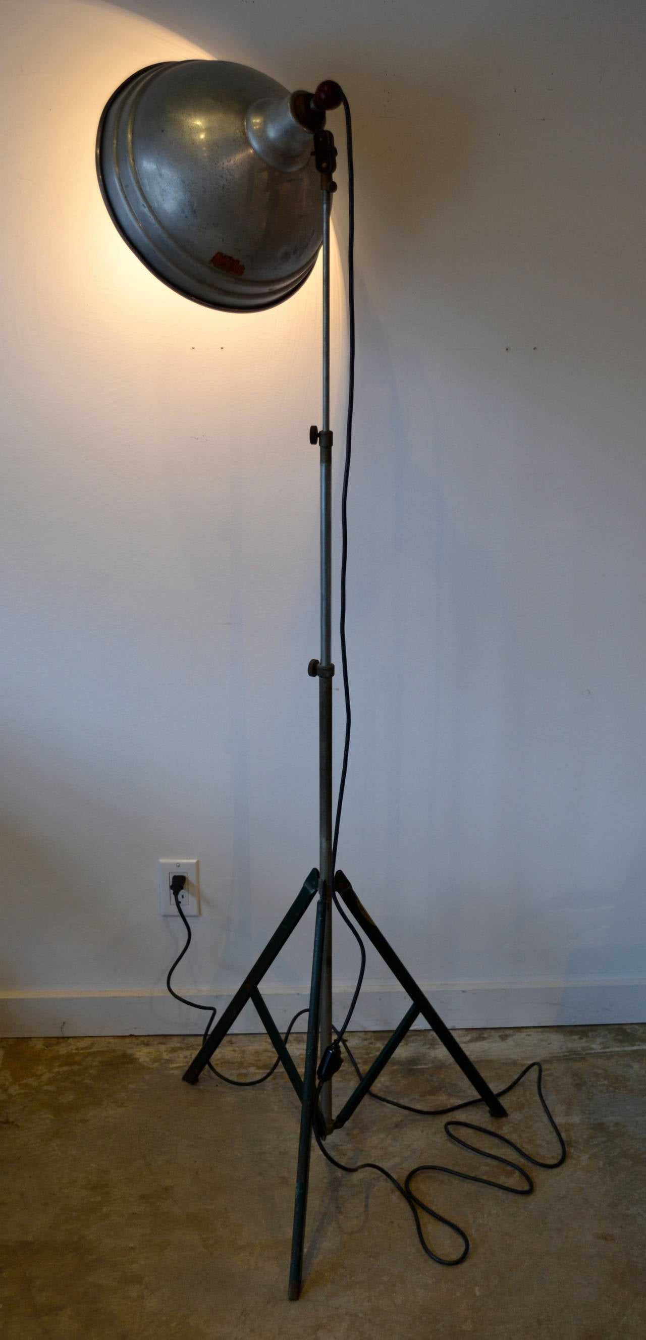 Cool Industrial Lamps Vintage Industrial Floor Lamp By Acme Lite Usa At 1stdibs