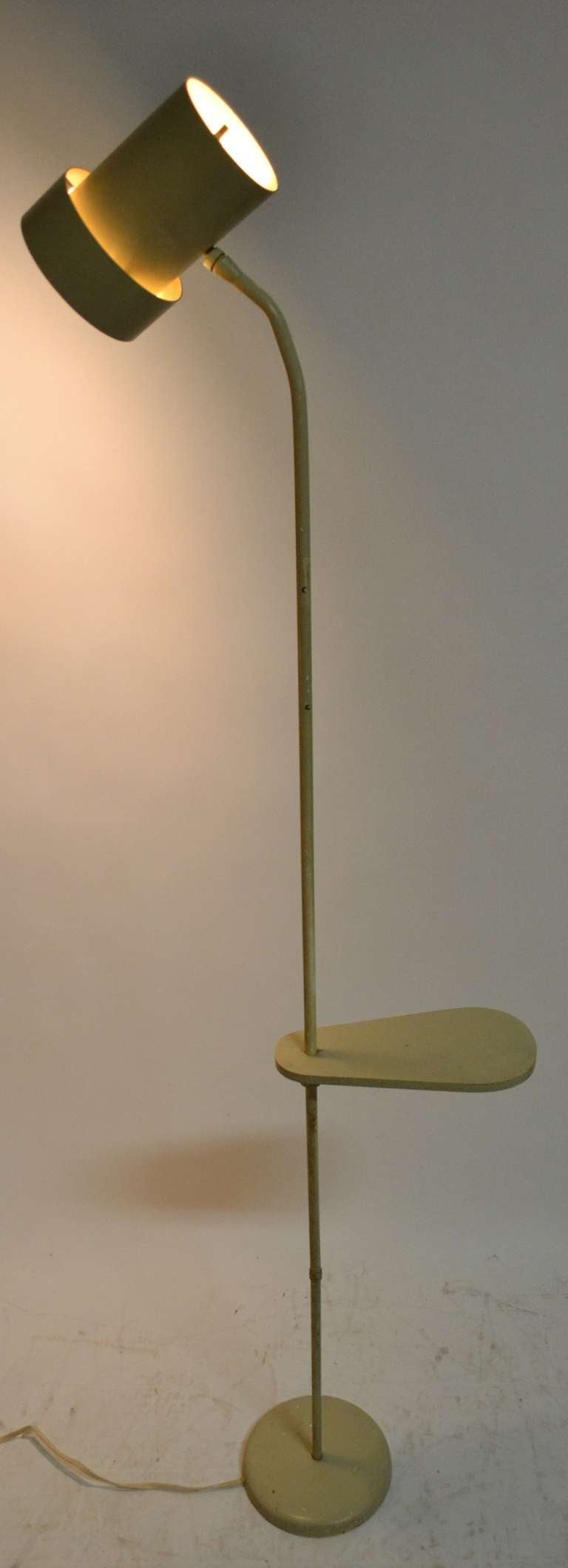 Unusual Possibly Unique Adjustable Floor Lamp at 1stdibs