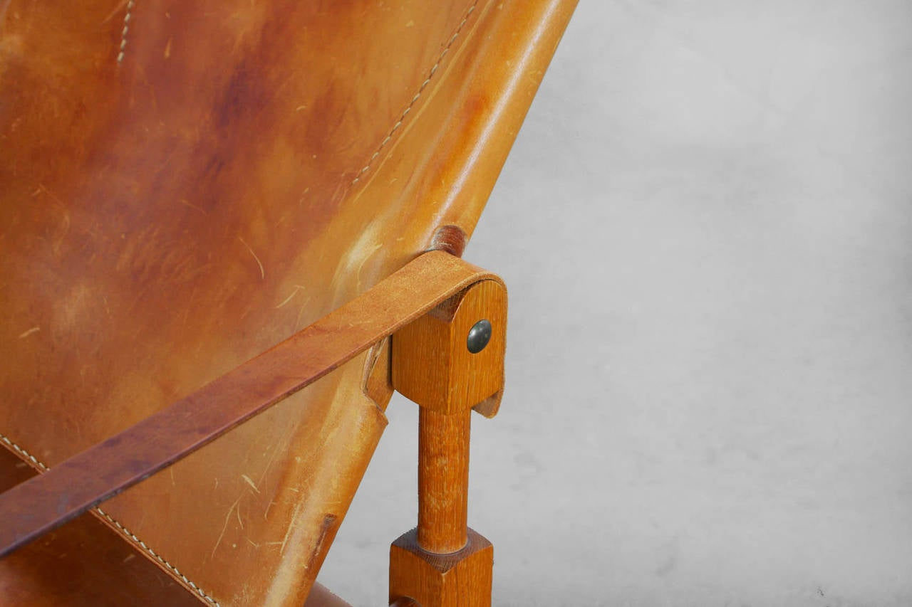 Arkana Safari Sessel Wilhelm Kienzle Leather Safari Chair For Wohnbedarf Zurich