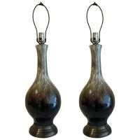 Table Lamps, Pair Mid Century Porcelain Table Lamps at 1stdibs