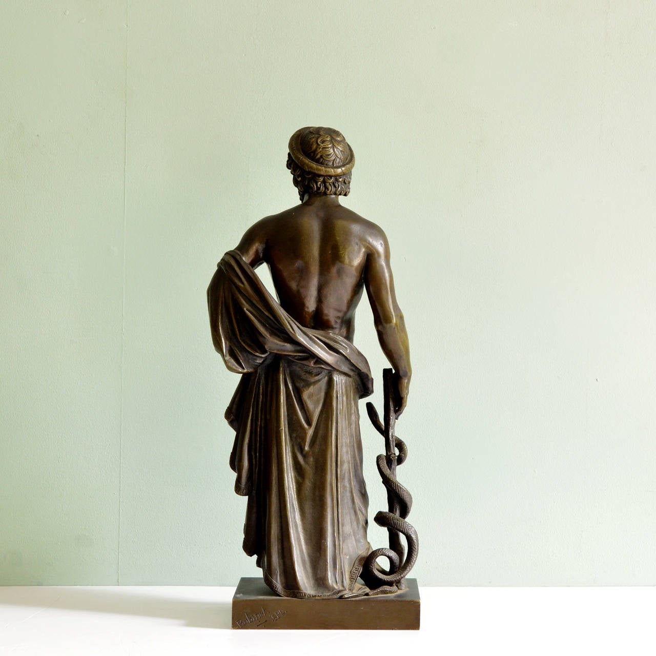 Ancient Greek Statues For Sale Bronze Of Asclepius At 1stdibs