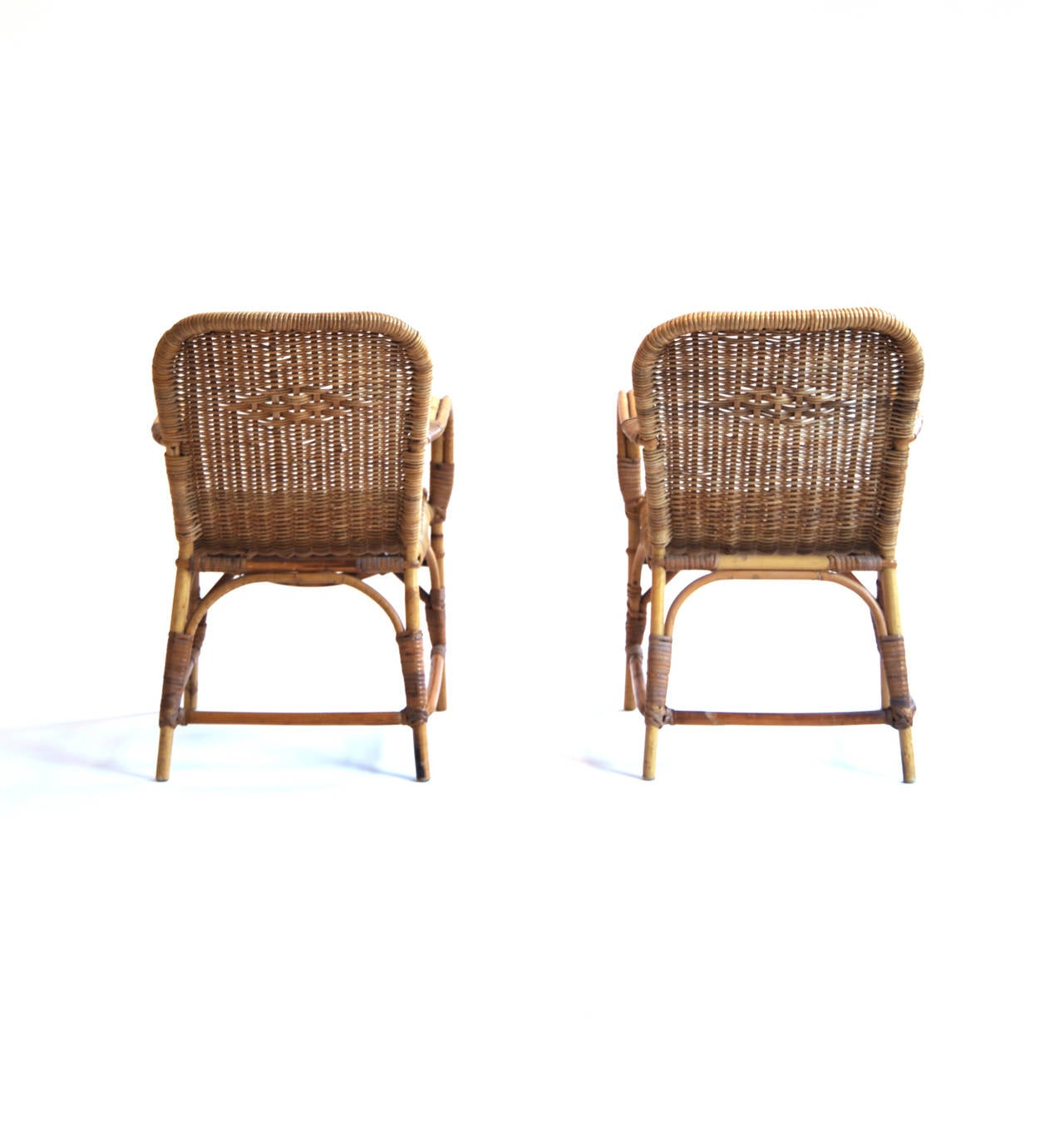 Kids Easy Chair Rohe Rattan Children 39s Easy Chair At 1stdibs