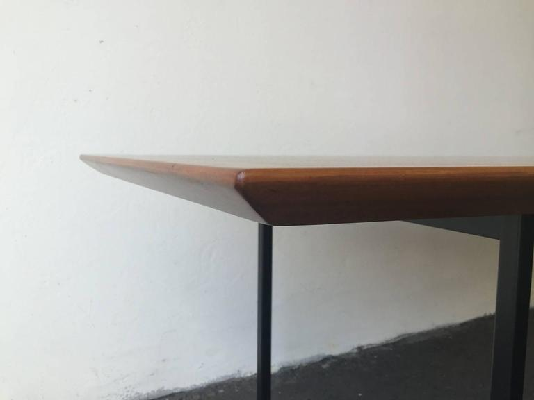 Boat Shaped Dining Table By Florence Knoll At 1stdibs