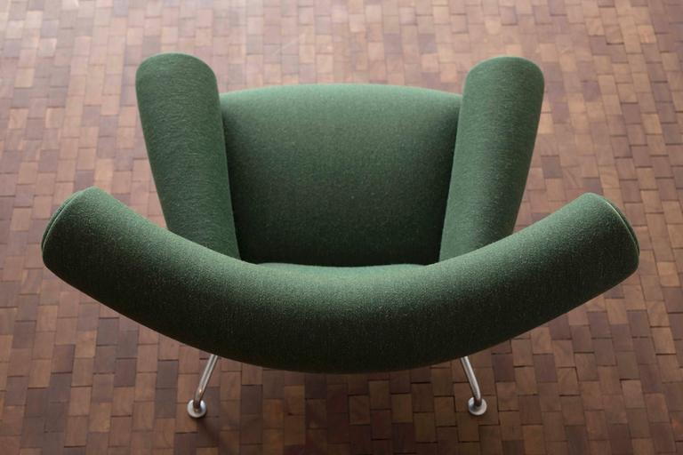 Hans J Wegner Ox Chair For Ap Stolen At 1stdibs