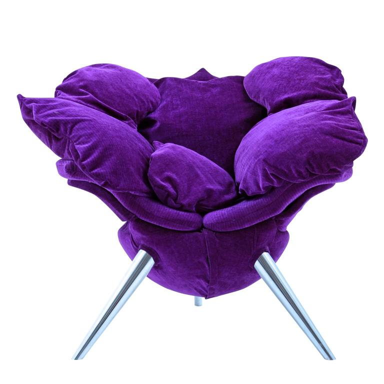 Designer Chair U201cRoseu201d By Edra, Designed By Masanori Umeda, 1990s   Designer  Sessel Von