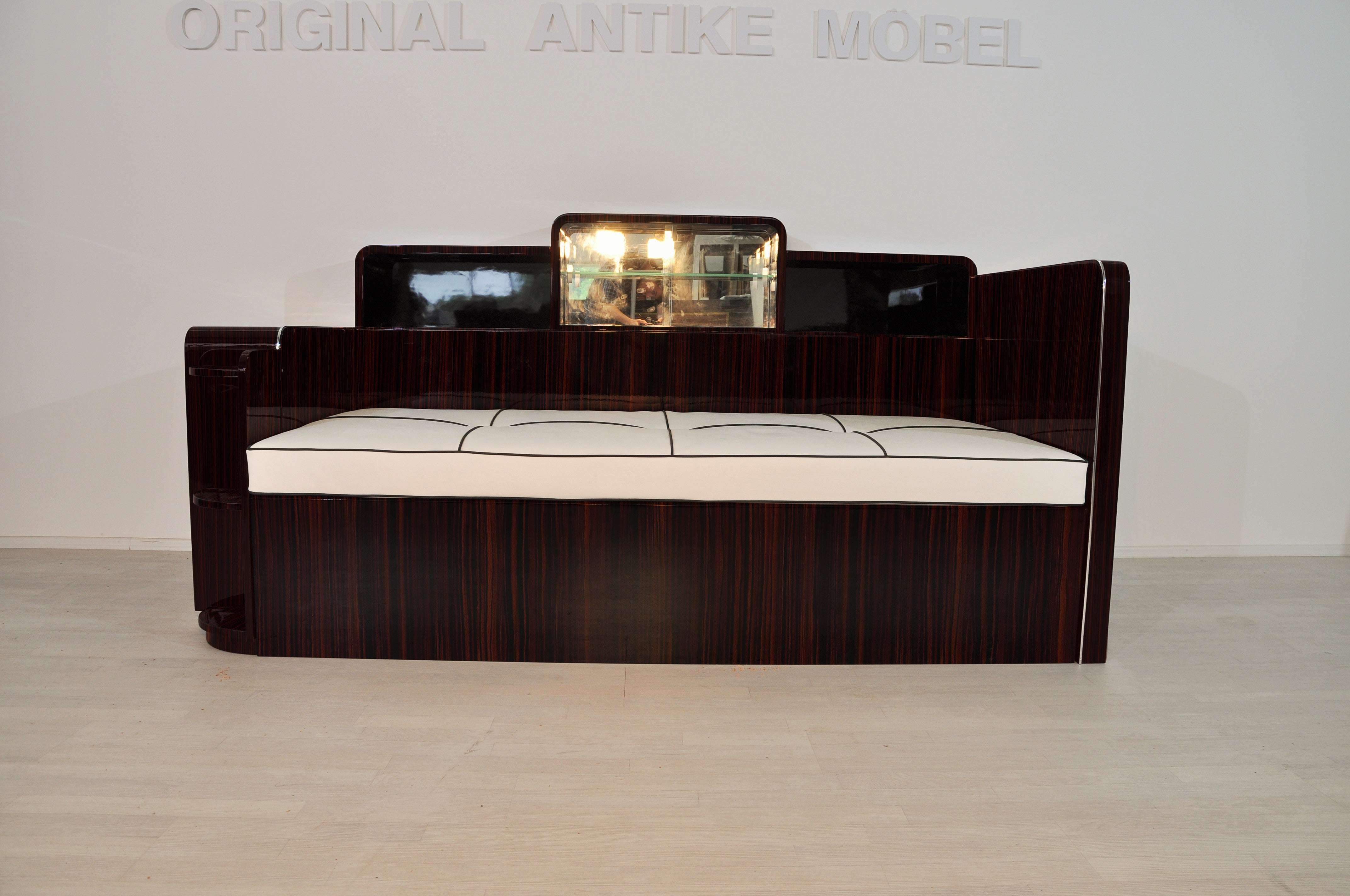 Antike Sofas Contemporary Art Deco Macassar Daybed