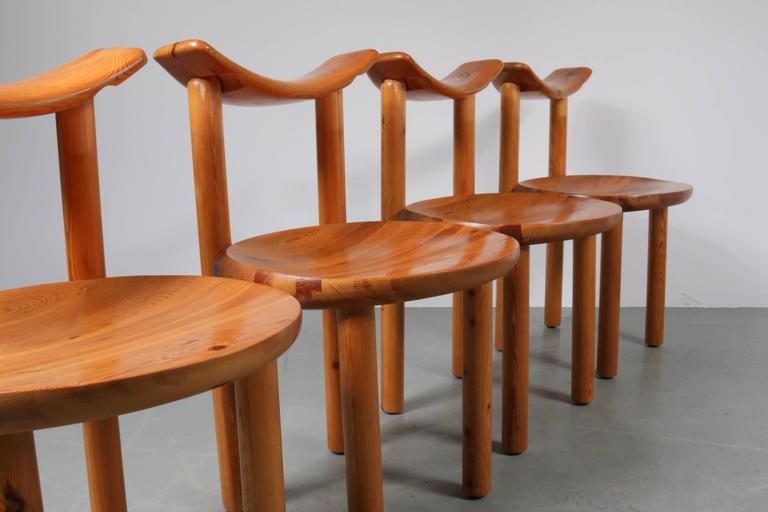 Set Of Four Dining Chairs By Rainer Daumiller For