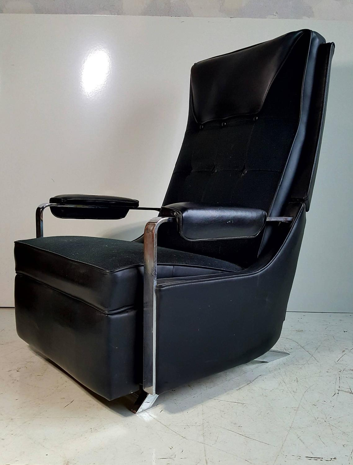Z Chair For Sale Classic Modernist 39lazy Boy Quot Recliner Stunning Black And