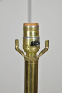 Pair Brass Stiffel Lamps, circa 1970s For Sale at 1stdibs