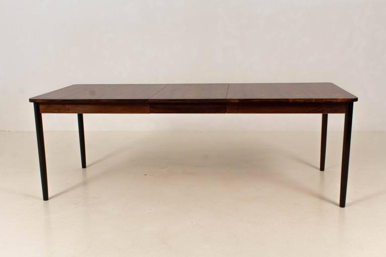 Stunning And Large Mid Century Modern Extendable Dining
