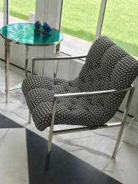 Milo Baughman Scoop Lounge Chairs For Sale at 1stdibs