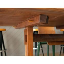 Small Crop Of Trestle Dining Table