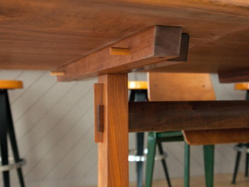 Medium Of Trestle Dining Table