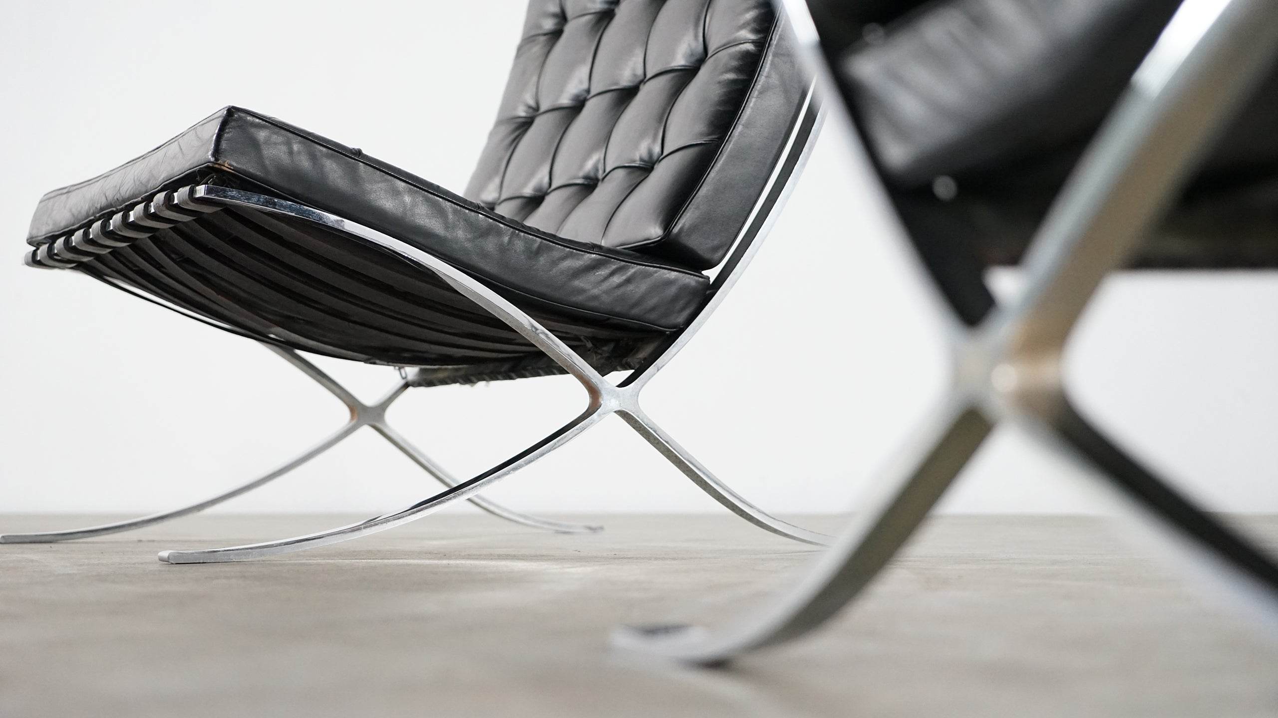 Barcelona Sessel Knoll Mies Van Der Rohe Barcelona Chair By Knoll International Edition
