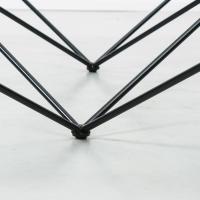 Paolo Piva for B B Italia Alanda Modernist Geometric Glass ...