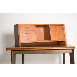 Small Crop Of Desk With Hutch