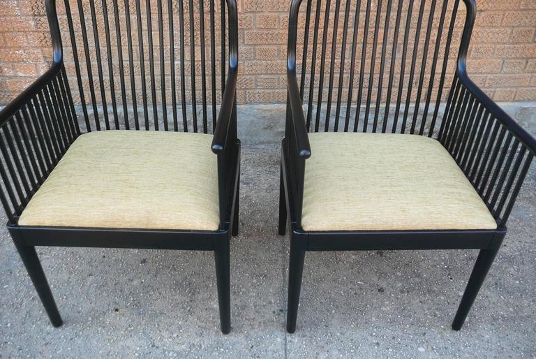 Pair Of Davis Allen Exeter Chairs For Knoll At 1stdibs