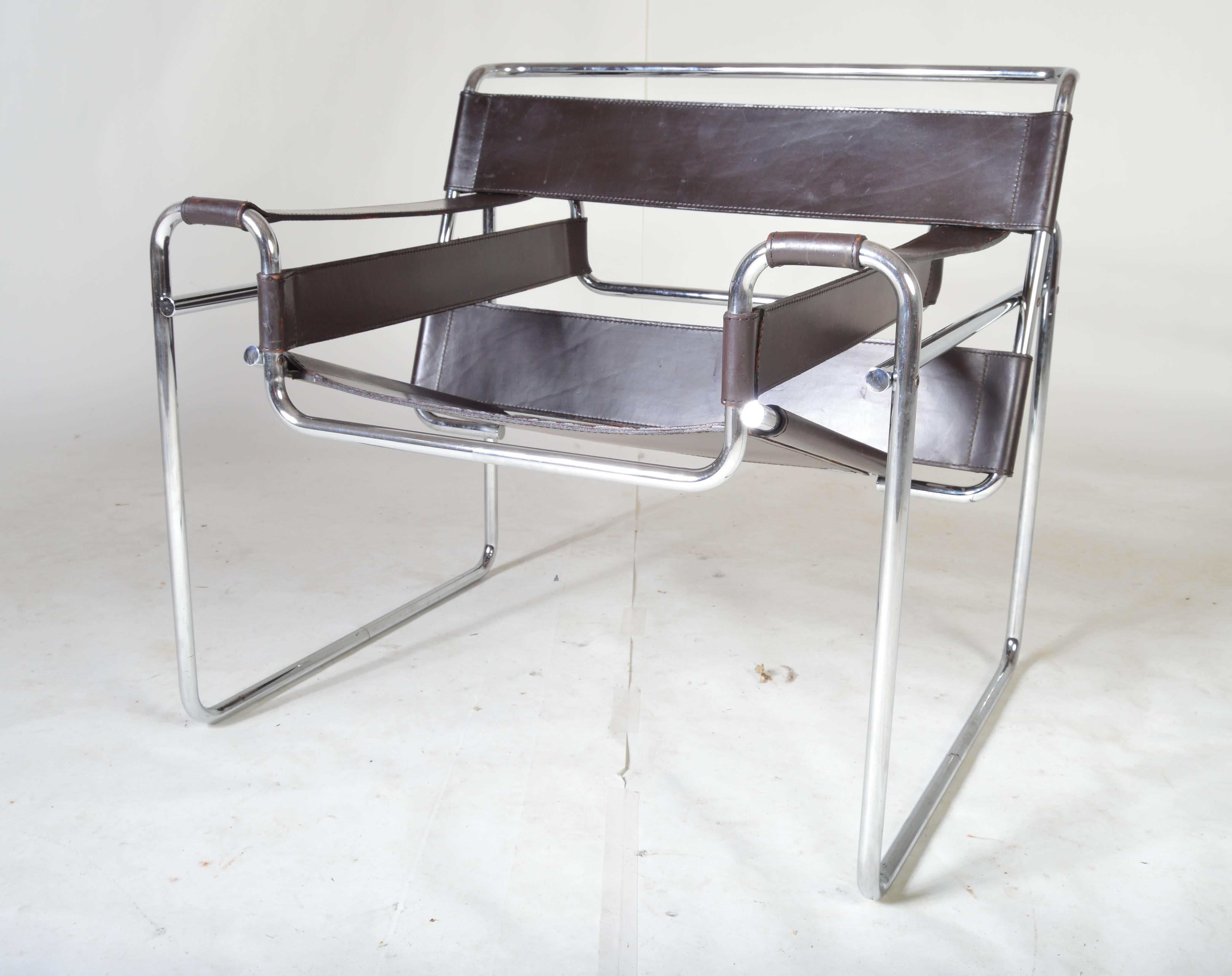 Wassily Chair Vintage 1960s Wassily Chair By Marcel Breuer For Gavina Italy