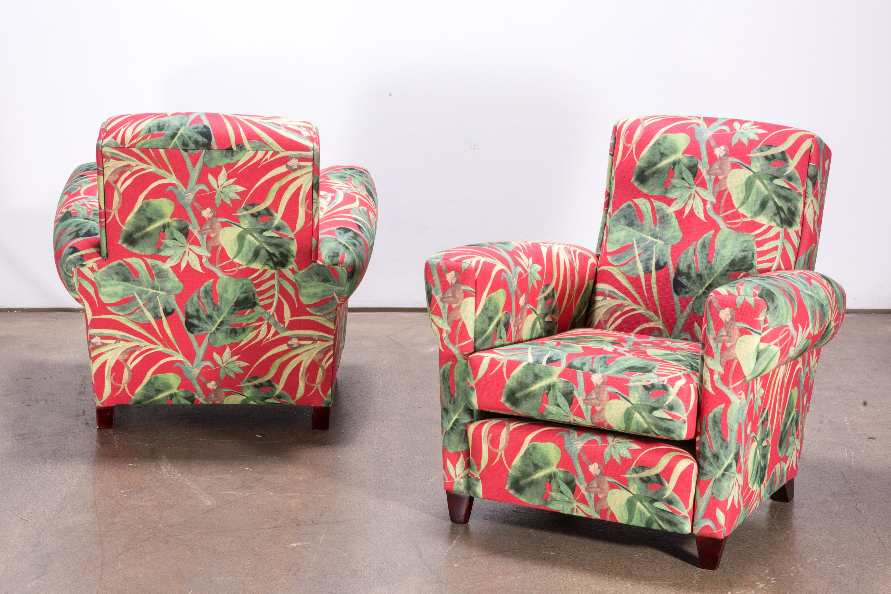 Sessel Romeo Elegance Pair Of Italian Design Mid Century Armchairs 1950s With New Ape Upholstery