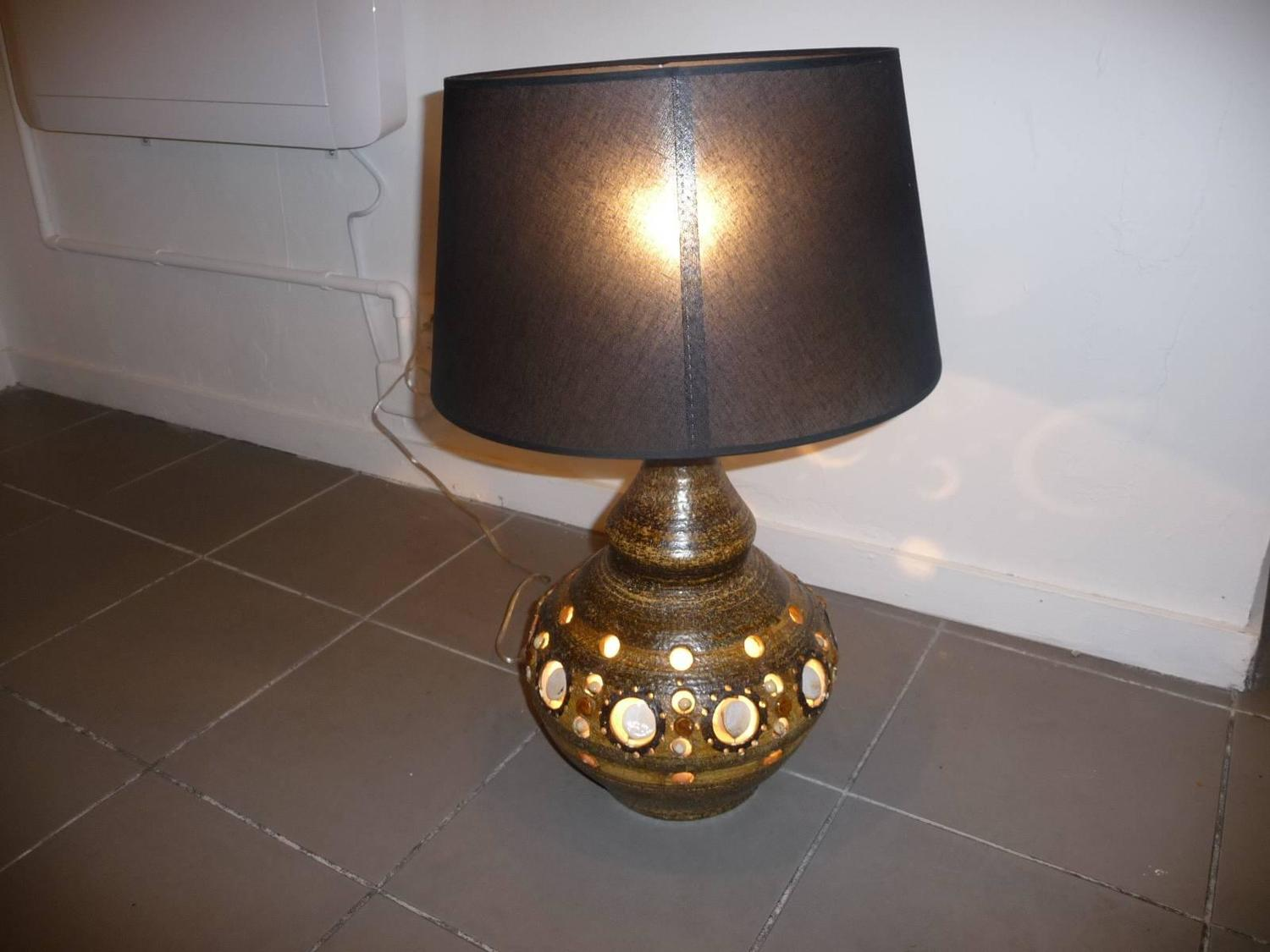 Large Lamps For Sale George Pelletier Large Table Lamp For Sale At 1stdibs