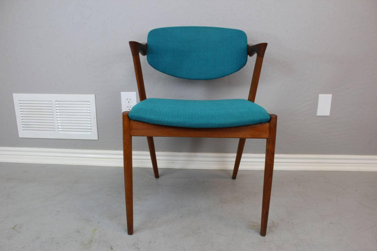 Z Chairs Sale Kai Kristiansen Model 42 Z Chairs Set Of Eight For Sale