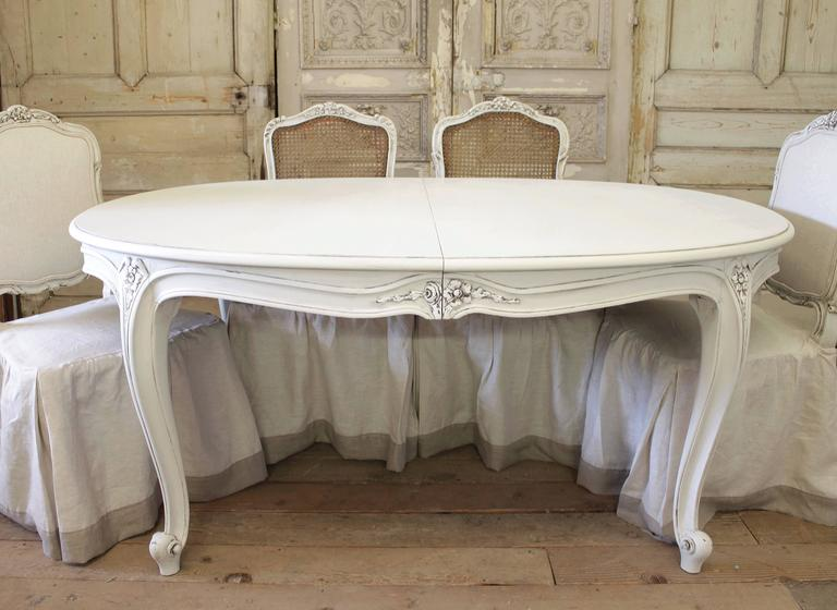 French Carved Louis Xv Style Dining Table For Sale At 1stdibs