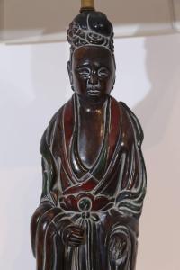 20th Century Oriental Figure Frederick Cooper Table Lamp ...