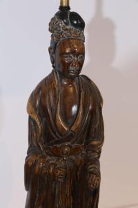20th Century Frederick Cooper Oriental Lamp at 1stdibs