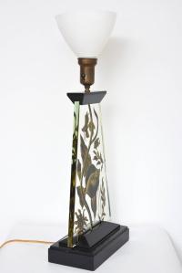 Art Deco Fish Aquarium Lamp For Sale at 1stdibs
