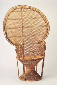 Iconic Emmanuelle Chair Midcentury, Rattan Peacock Chair ...