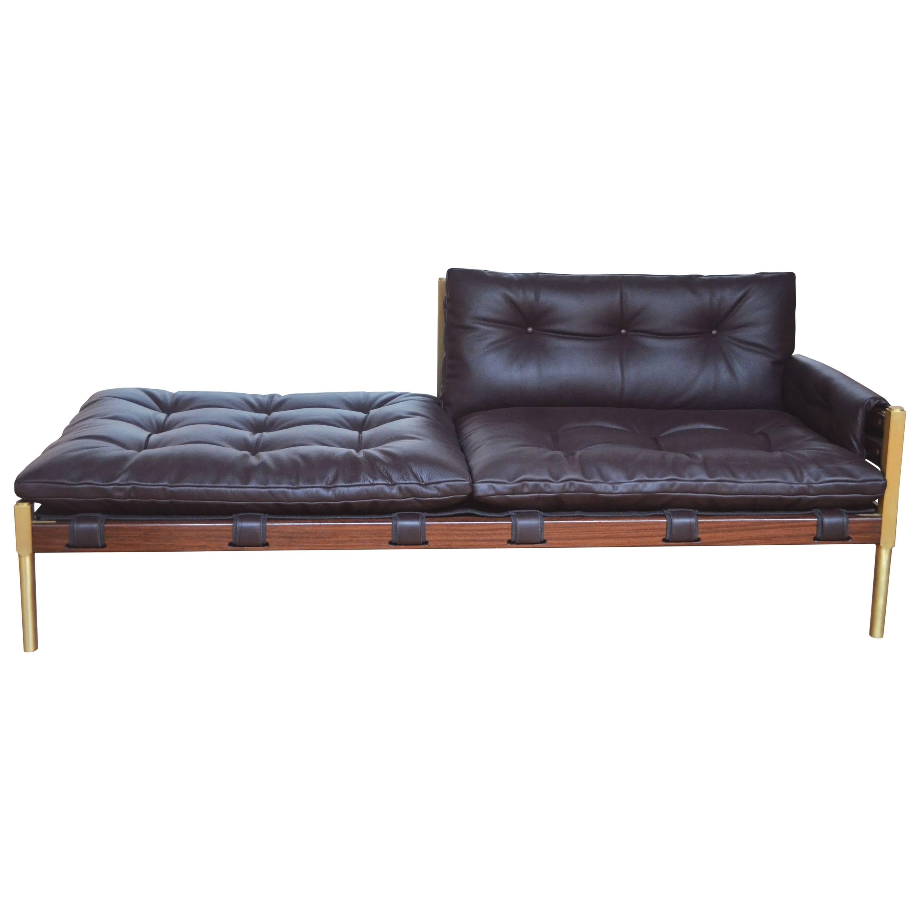 Sofa Jequitiba Nova America Chaise Atoa By Paulo Alves Handcrafted In Brazil