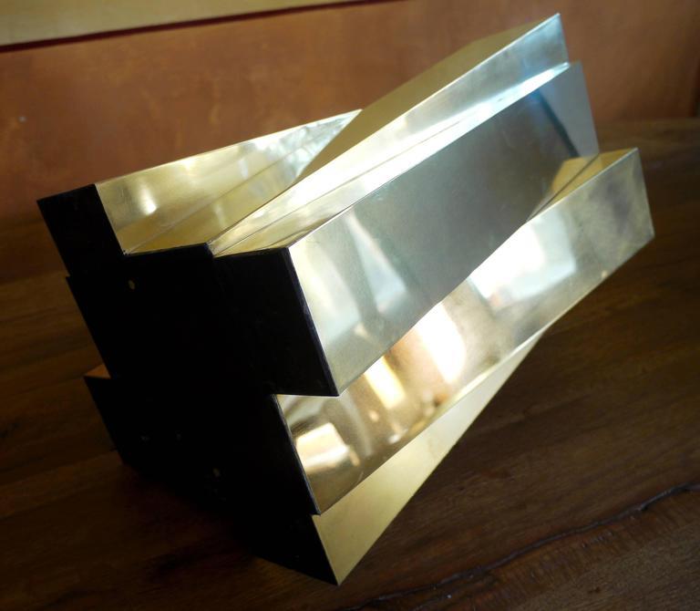 1970s Brass Italian Table Lamps