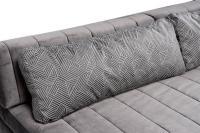 Custom-Made Modular Grey Velvet Daybed Sofa Set, 1960s For ...