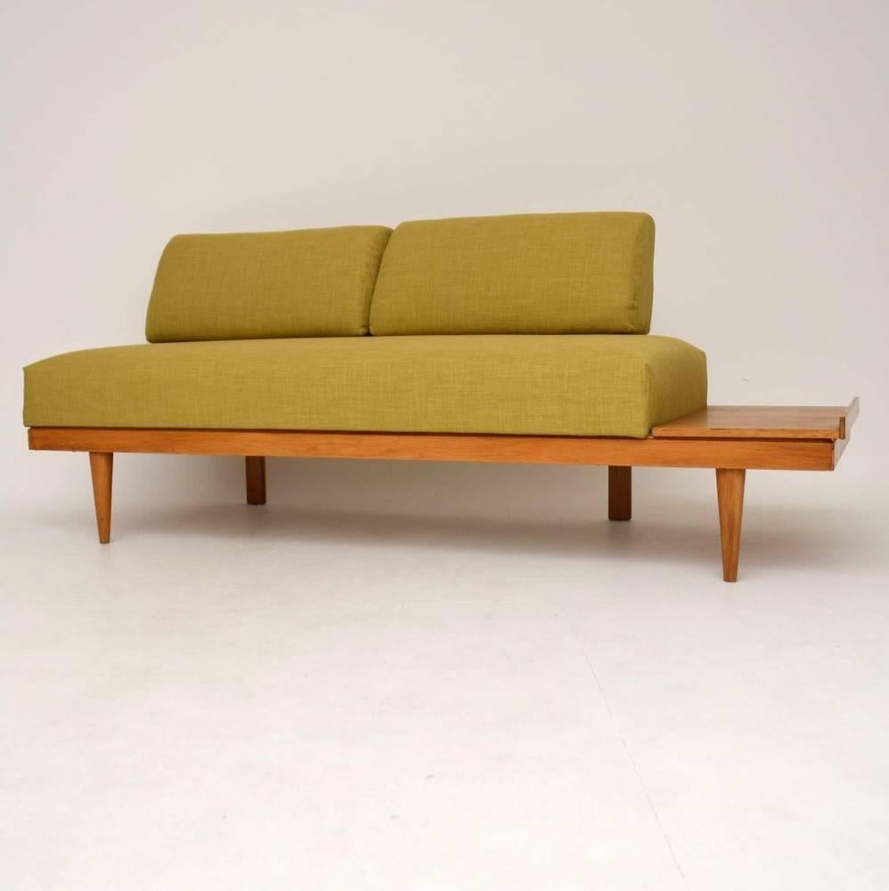 Retro Sofa Wood Retro Sofa Bed Or Day Bed By Ingmar Relling Vintage 1960s