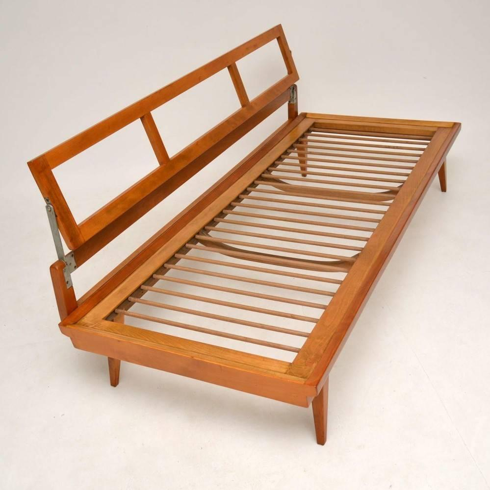 Retro Sofa Wood Retro Sofa Daybed By Wilhelm Knoll Vintage 1950s