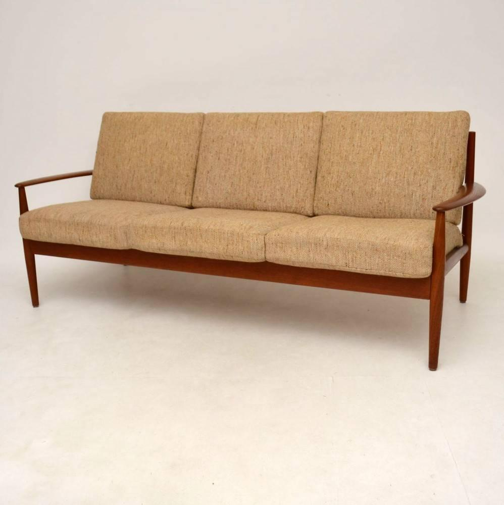Danish Retro Teak Sofa By Grete Jalk For France And Son Vintage 1960s At 1stdibs