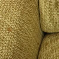 Vintage Mid-Century Modern Knoll Style Upholstered Swivel ...