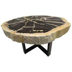 Hairy Sale At Wood Side Table Target Wood Side Table Metal Black Powder Coated Base Petrified Wood Tables Indonesian Petrified Wood Side Table Drawers