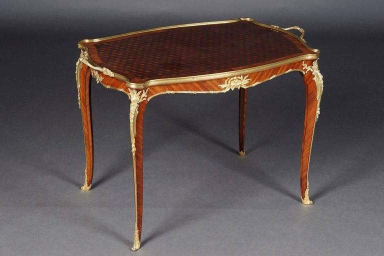 19th Century Louis Quinze French Serving Table By Francois