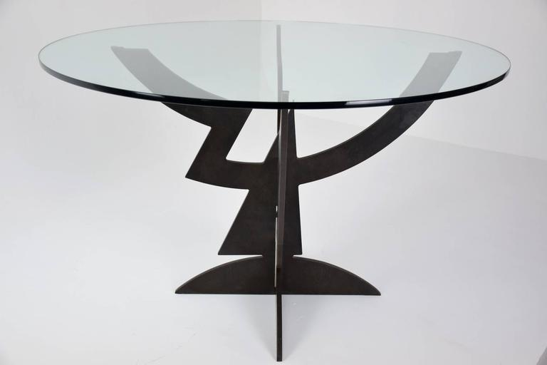 20th Century Sculptural Pucci De Rossi Dining Table In