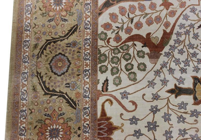 New Egyptian Tabriz Design Carpet For Sale At 1stdibs