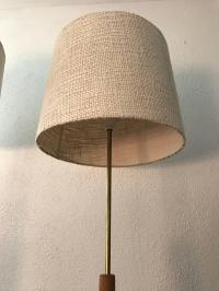 1960 Swedish Original Pine and Brass Floor Lamps Very Rare ...