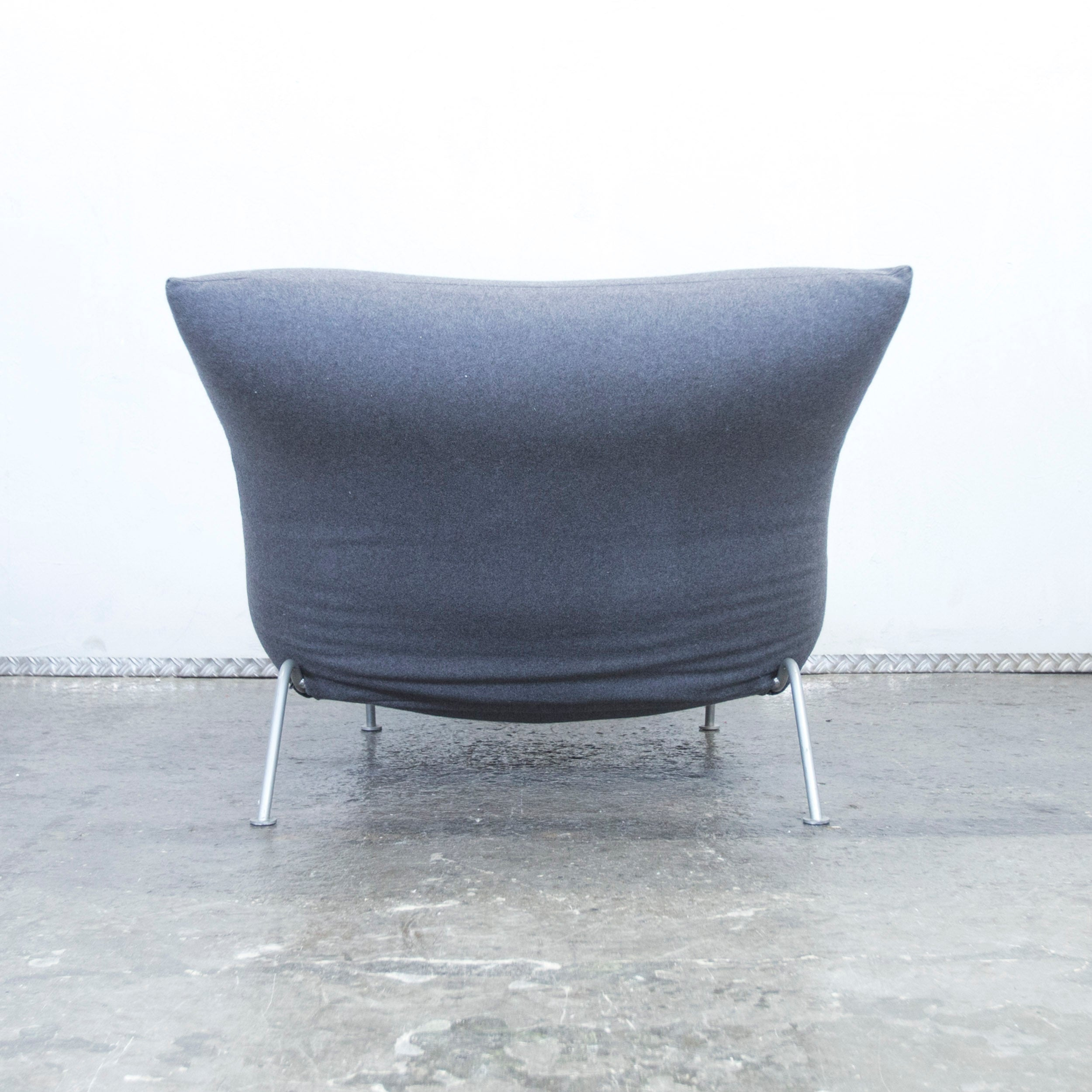 Ligne Roset Sessel Calin Lignet Roset Calin Fabric Chaise Longue Couch Chair Grey Function Modern