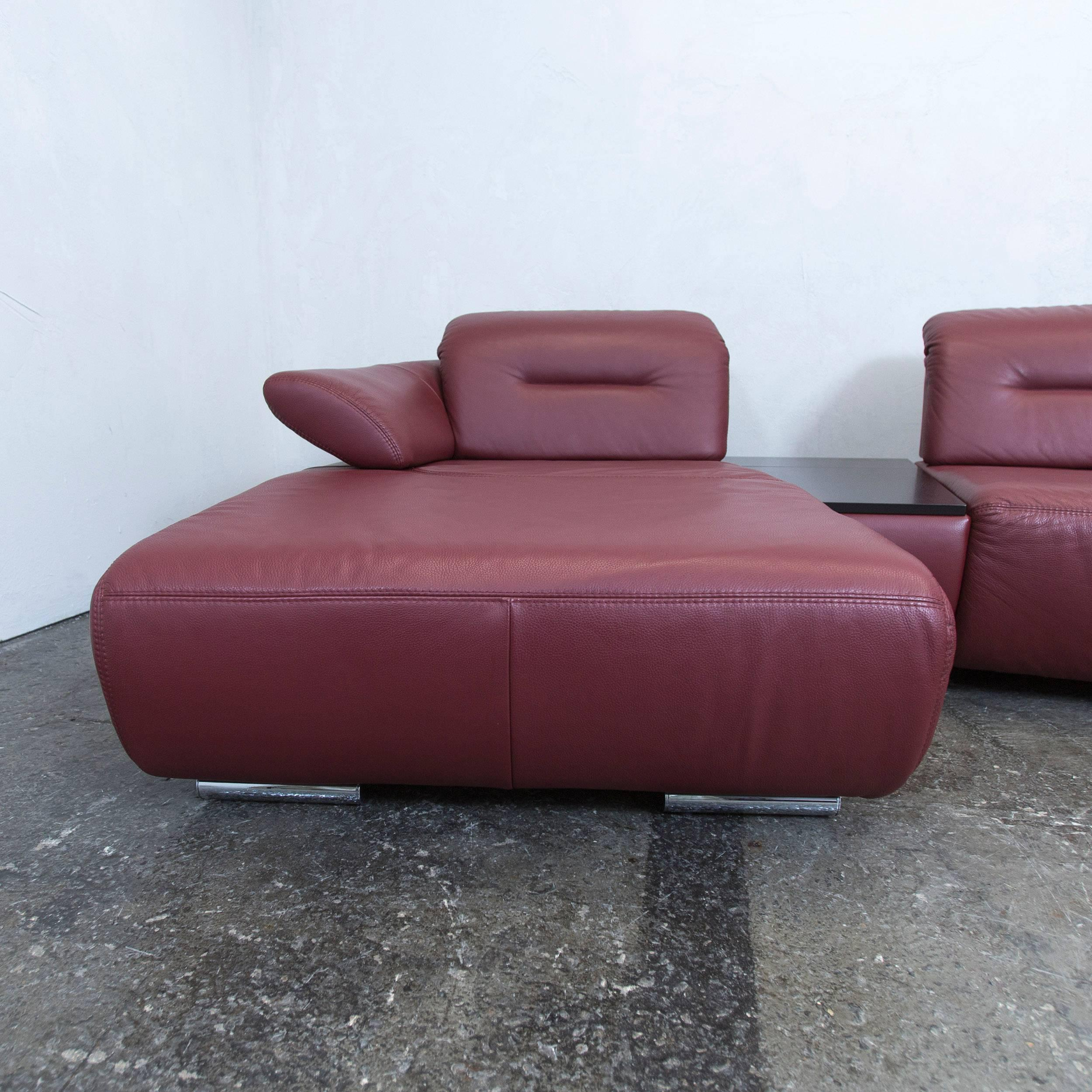 Chippendale Couchtisch Couch Rot Leder Best With Couch Rot With Couch Rot Leder Koinor