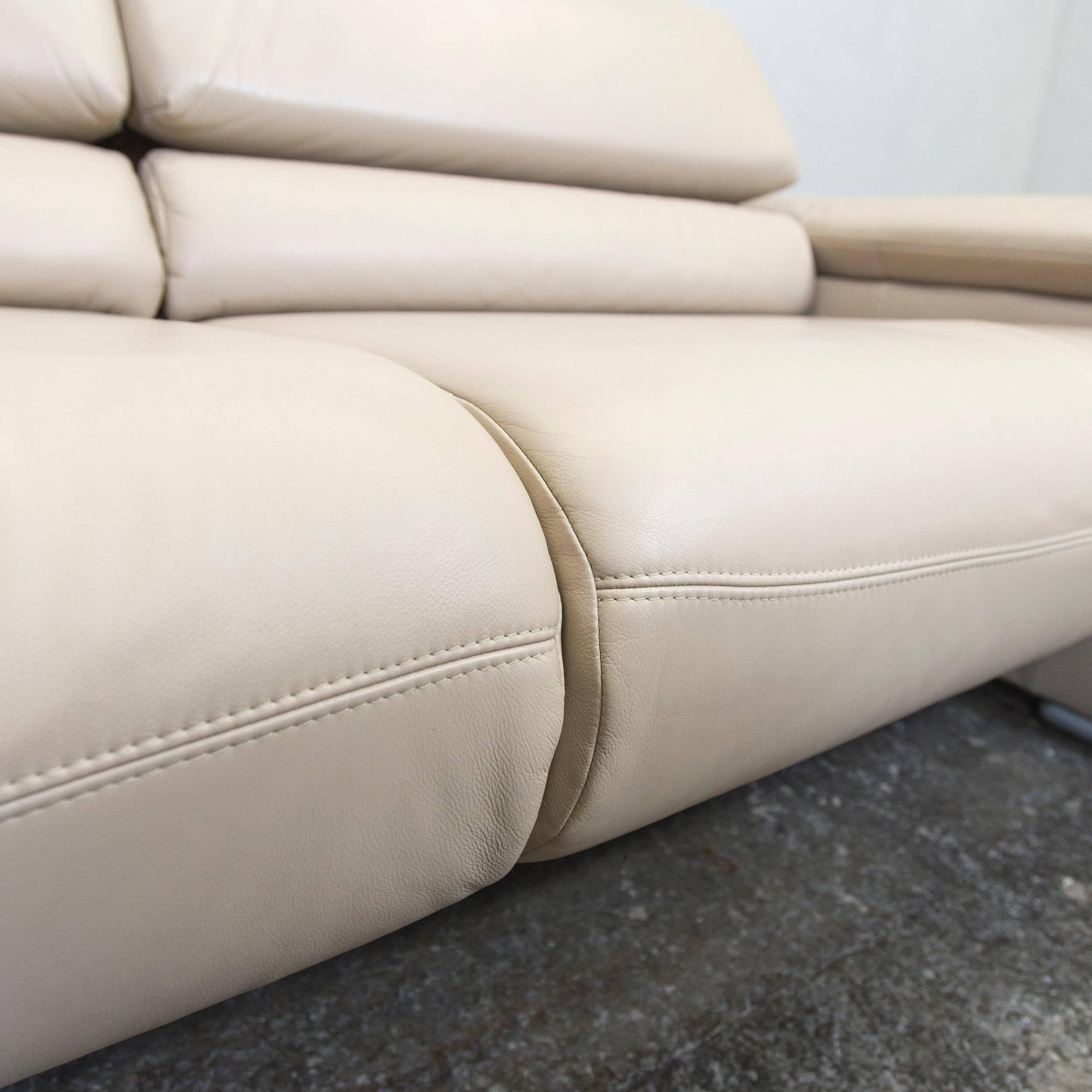 Ledersofa Cremefarben Ledersofa Creme Interesting Best Cool Koinor Designer